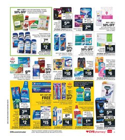 Toothpaste deals in the CVS Health weekly ad in New York