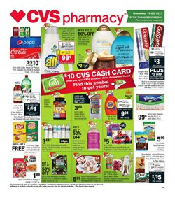 CVS Pharmacy deals in the Springfield MA weekly ad