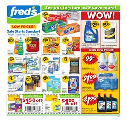 Fred's Pharmacy deals in the Natchez MS weekly ad