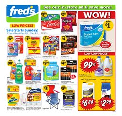 Detergent deals in the Fred's Pharmacy weekly ad in Stone Mountain GA