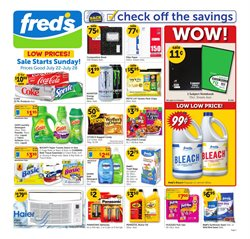 Grocery & Drug deals in the Fred's Pharmacy weekly ad in Savannah GA