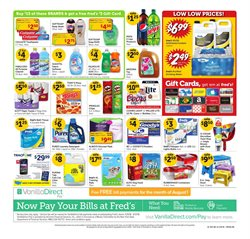 Pizza deals in the Fred's Pharmacy weekly ad in Savannah GA