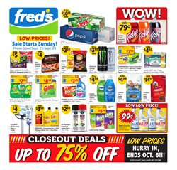 Fred's Pharmacy deals in the Memphis TN weekly ad