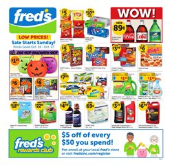 Car battery deals in the Fred's Pharmacy weekly ad in Acworth GA