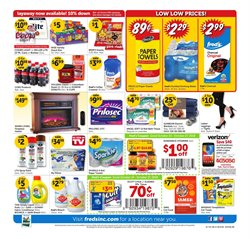 Water deals in the Fred's Pharmacy weekly ad in Lafayette LA