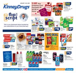 Kinney Drugs deals in the Syracuse NY weekly ad