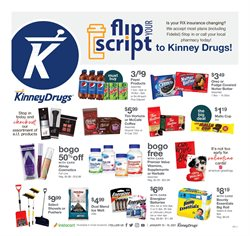 Kinney Drugs catalogue ( Expires today )