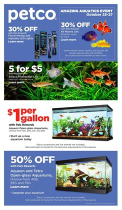 Petco deals in the Chicago IL weekly ad