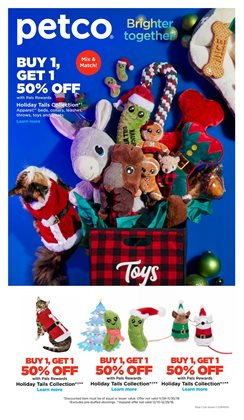 Petco deals in the Tucson AZ weekly ad