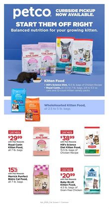 Petco catalogue in Chicago IL ( Expired )