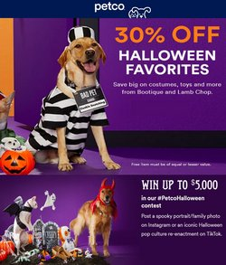 Grocery & Drug deals in the Petco catalog ( 10 days left)