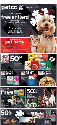 Petco deals in the Bismarck ND weekly ad