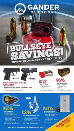 Gander Mountain deals in the Minneapolis MN weekly ad