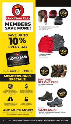 Leather jacket deals in the Gander Mountain weekly ad in Minneapolis MN