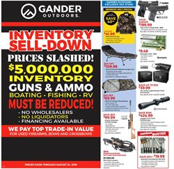 Gander Mountain deals in the Jacksonville FL weekly ad