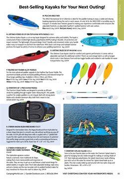 Kayak deals in Gander Mountain