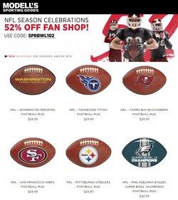 Modell's deals in the Modell's catalog ( 9 days left)