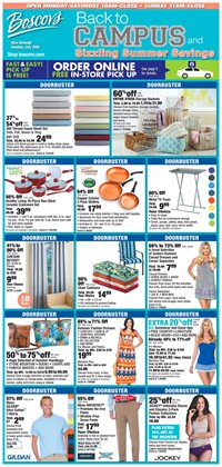 Department Stores deals in the Boscov's weekly ad in Troy NY