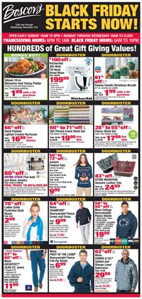 Department Stores deals in the Boscov's weekly ad in Schenectady NY