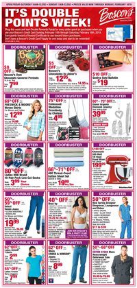 Boscov's deals in the Reading PA weekly ad