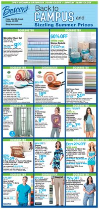 Department Stores deals in the Boscov's weekly ad in Allentown PA