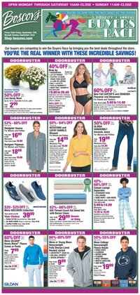 Department Stores deals in the Boscov's weekly ad in Lancaster PA