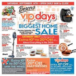 Department Stores deals in the Boscov's weekly ad in Waterbury CT