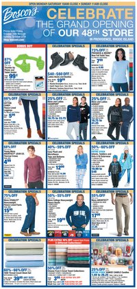 Department Stores deals in the Boscov's weekly ad in Erie PA