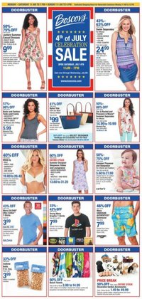 Department Stores offers in the Boscov's catalogue in Waterbury CT ( 3 days left )