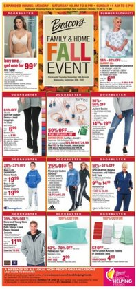 Department Stores offers in the Boscov's catalogue in Philadelphia PA ( 2 days left )