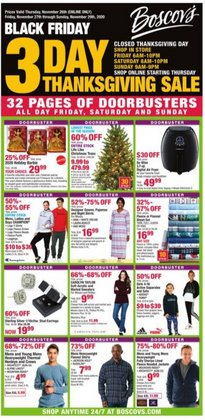 Department Stores offers in the Boscov's catalogue in Erie PA ( Expires tomorrow )