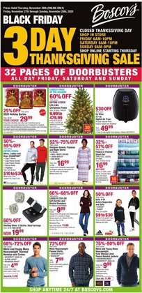 Department Stores offers in the Boscov's catalogue in Dickinson TX ( Expires today )