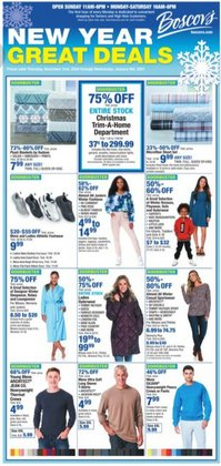 Department Stores offers in the Boscov's catalogue in Bridgeport CT ( 6 days left )