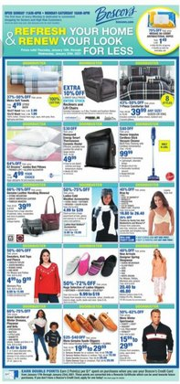 Department Stores offers in the Boscov's catalogue in Toms River NJ ( 3 days left )