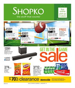 Discount Stores deals in the Shopko weekly ad in Houston TX
