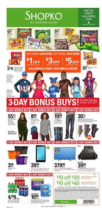 Discount Stores deals in the Shopko weekly ad in Dallas TX