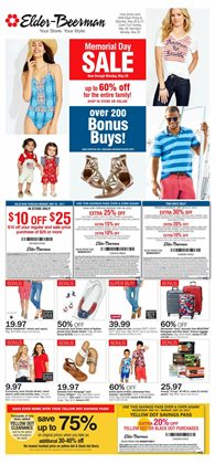 The Mall at Fairfield Commons deals in the Elder Beerman weekly ad in Beavercreek OH