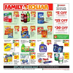 Detergent deals in the Family Dollar weekly ad in Johnstown PA