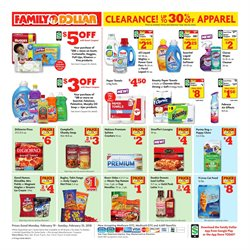 Campbell's deals in the Family Dollar weekly ad in New York