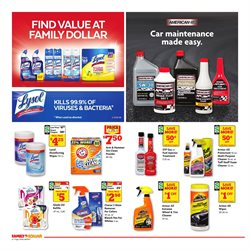 Clorox deals in the Family Dollar weekly ad in Fontana CA