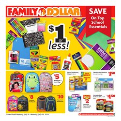 Family Dollar deals in the Abilene TX weekly ad