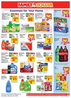 Discount Stores offers in the Family Dollar catalogue in Pasadena CA ( 2 days ago )