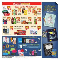 Discount Stores offers in the Family Dollar catalogue in Fresno CA ( 2 days ago )