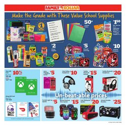 Microsoft Office deals in Family Dollar
