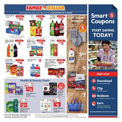 Discount Stores offers in the Family Dollar catalogue in Bowling Green KY ( Expires tomorrow )