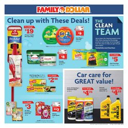 Car care deals in Family Dollar