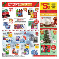 Thanksgiving deals in the Family Dollar catalog ( Expired)