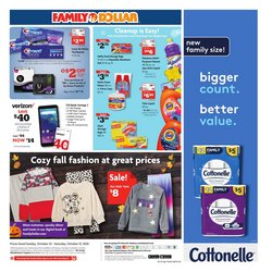 New deals in Family Dollar