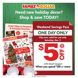 Family Dollar catalogue in New York ( Expires today )