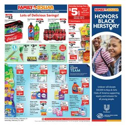 Discount Stores offers in the Family Dollar catalogue in Dallas TX ( Expires tomorrow )